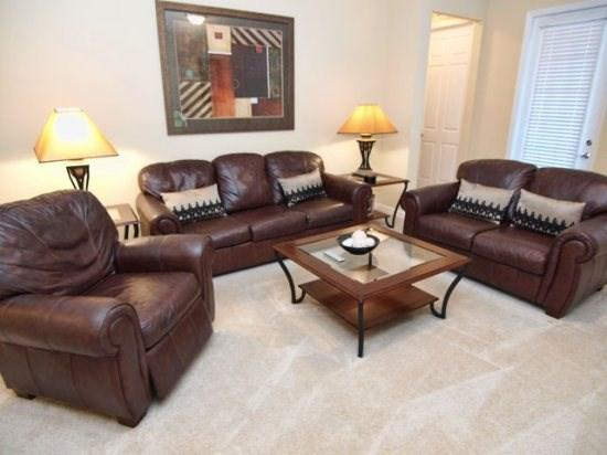 Living Area - VC2C5036SL-105 Modern 2 Bedroom Condo Stylishly Furnished - Orlando - rentals