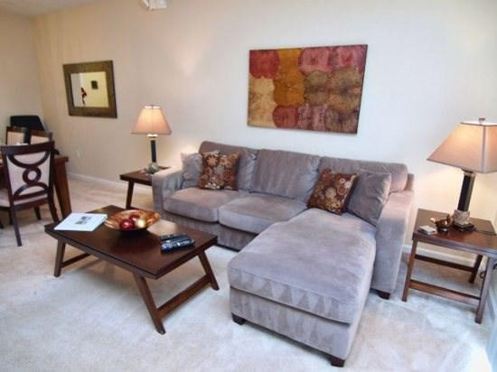 Living Area - VC3T4815TA-161 3 BR Townhouse Near Convention Center - Orlando - rentals
