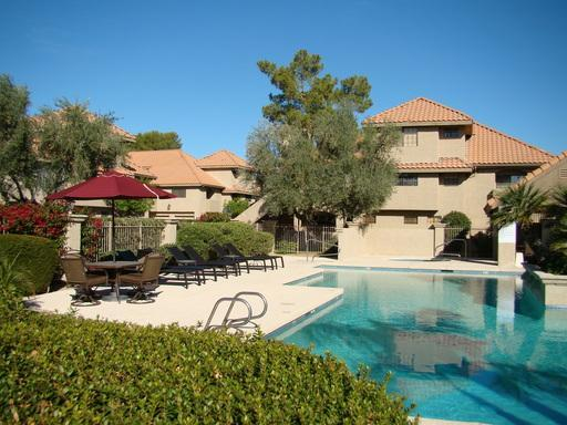 Pool - Cozy ground floor condo with pool view and patio - Scottsdale - rentals