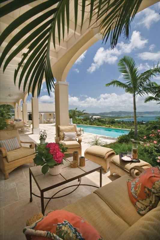 Mango Hill Greathouse at Estate Shoys, St. Croix - Ocean View, Pool, Sequestered On A Breezy Knoll - Image 1 - Saint Croix - rentals