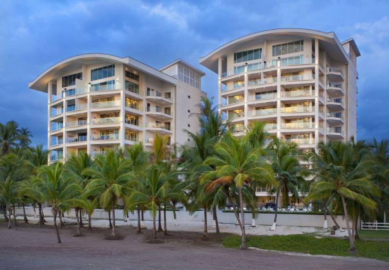Buildings seen from the beach - Oceanfront Penthouse, Million $$ View - 4BR/4.5BA - Jaco - rentals