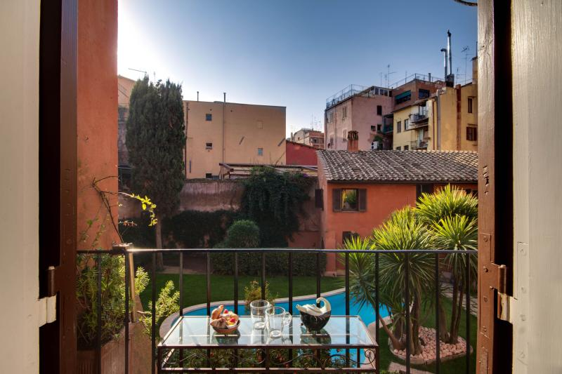 Balcony - Pillowapartments Modern Trastevere Apartment - Rome - rentals