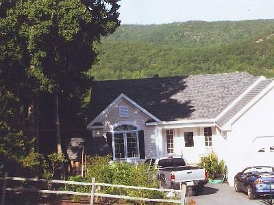 Front of home, early morning sun - Million Dollar Location IN Town,GREAT FALL RATES - Bar Harbor - rentals