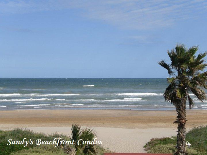 Beach view from private balcony - 206 - *Beachfront Aquarius Condominium - 2BR Gulf View* - South Padre Island - rentals