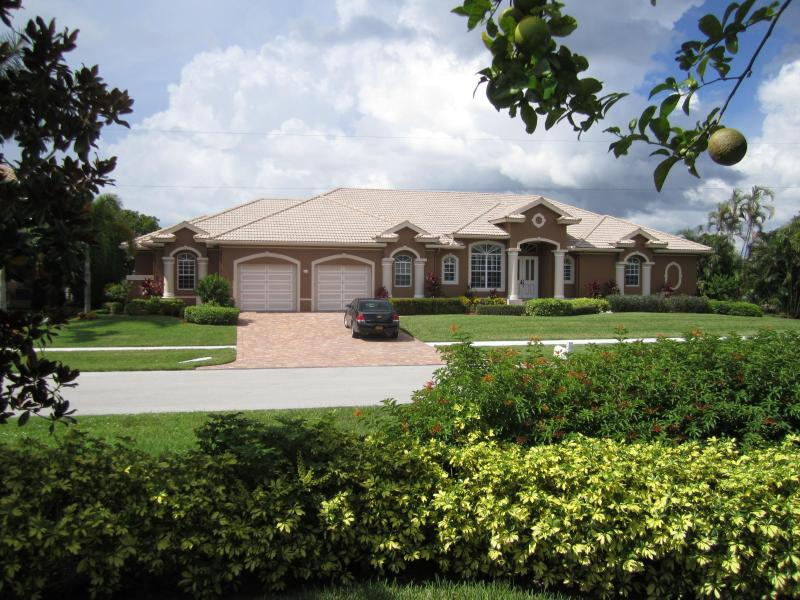 Front of House - Large New Home with Fantastic Water View & Sunsets - Marco Island - rentals