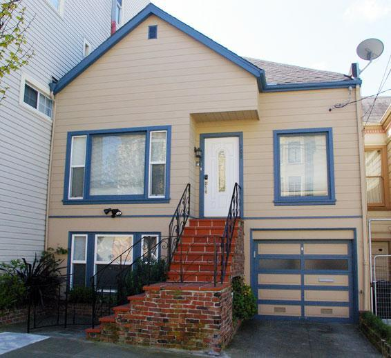 Front of the house - 125+  Five Star Reviews  Private Home $225/Night - San Francisco - rentals