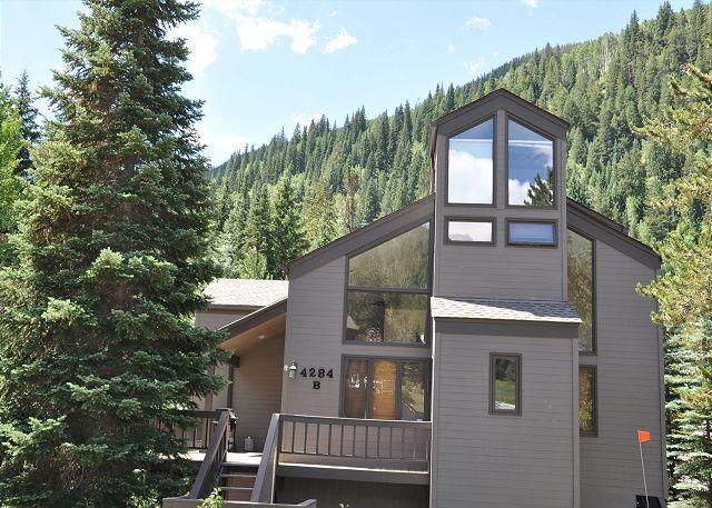 Exterior of 4284 Columbine - 4284B Columbine Drive - Home is East Vail - Vail - rentals