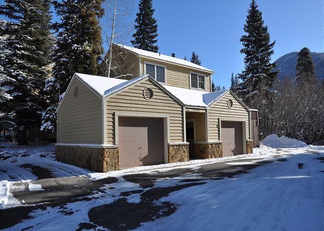 Exterior of 5040 #1 Prima Court - 5040 #1 Prima Court - Home is East Vail - Vail - rentals