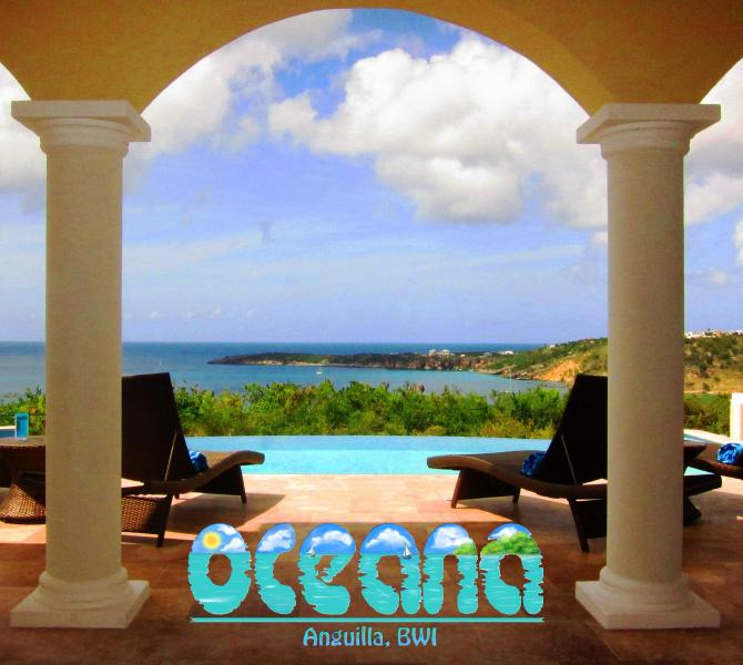 View from great room - Oceana Villa Anguilla - Brand New 2 bedroom - The Valley - rentals