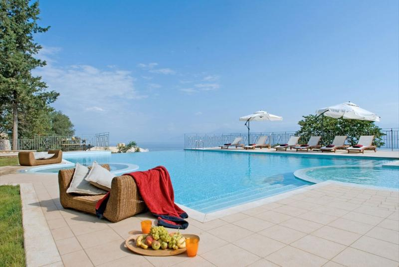 Greek Island Villa with Private Pool - Bella Vista - Image 1 - Corfu - rentals