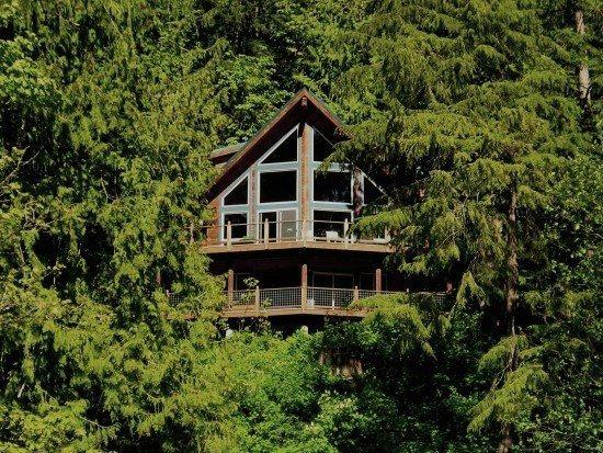 Silver Lake #7 - Unsurpassed lakefront views from this spectacular pet-friendly cabin! - Image 1 - Maple Falls - rentals