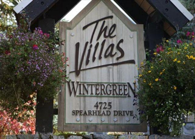 Wintergreen Sign - Acer Vacations | Whistler Town Home - Cozy 2 Bedroom Mountainside Lodging - Whistler - rentals