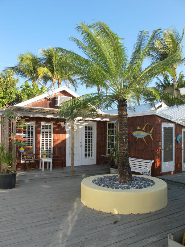 Inside the gated area - Chic Key West Redfish Cottage at Yellowdog Matlacha - Matlacha - rentals