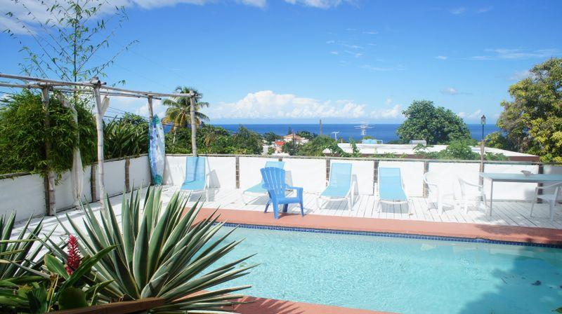 Pool - Gallery Apt at Surf House Apartments, Rincon - Rincon - rentals