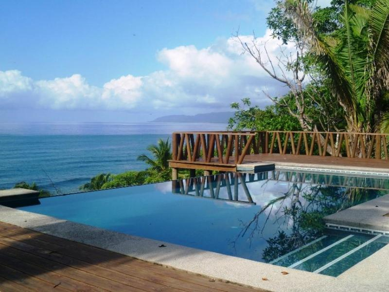 Infinity pool - Tropical Beach House with Infinity Pool! - Tambor - rentals