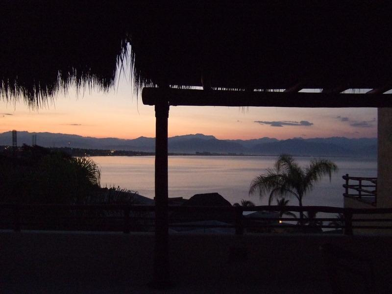 Stunning sunrise from living room - Beautiful Ocean View Villa-Punta Esmeralda Resort - La Cruz de Huanacaxtle - rentals