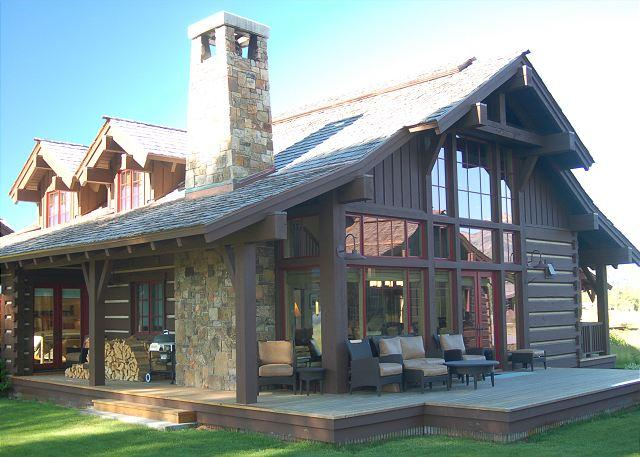 Back Deck - Golf & Tennis Luxury with Teton Views - Jackson - rentals