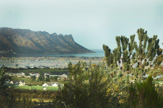 View from the Units - Vrede Self Catering Units from R600.00 - R1200.00 - Somerset West - rentals