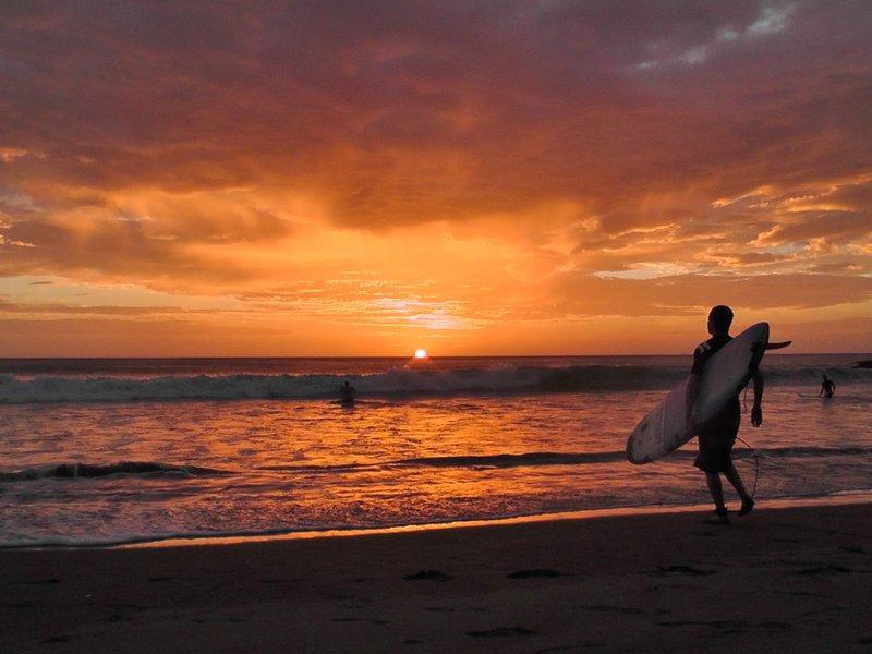 Sunset surf directly infront of the villa & bungalows! - Villa & Bungalows on Private Beach in Paradise! - San Juan del Sur - rentals