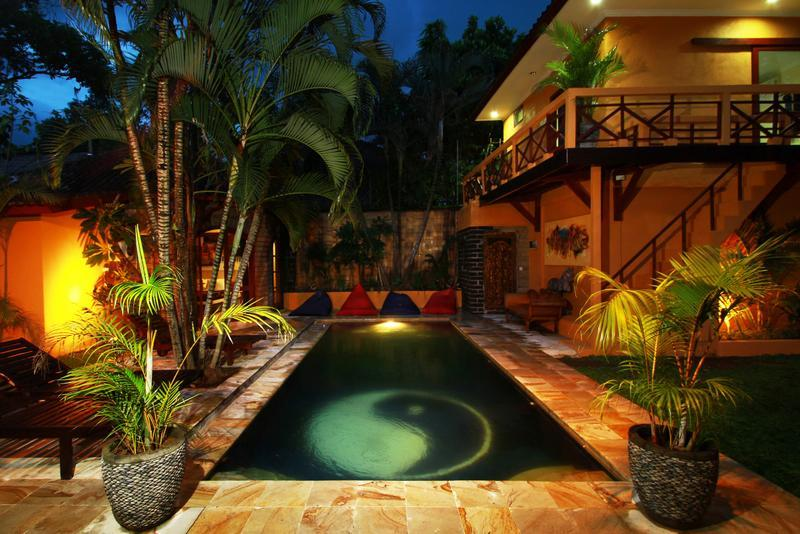 The pool viewed from the dining room. - Villa Emas, Great Location and Pool Fence - Seminyak - rentals