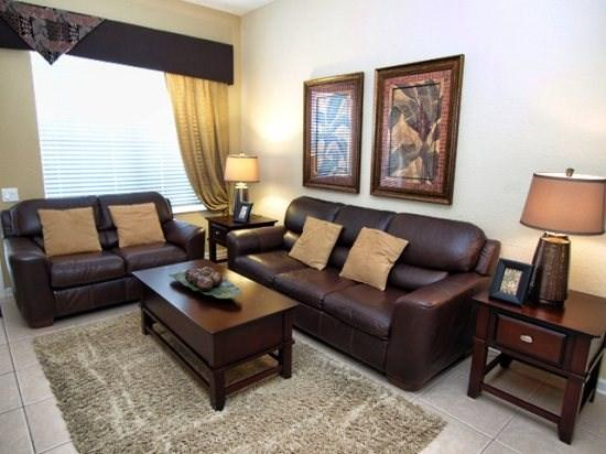 Living Area - VC3C4840CD-402 3 BR Condo Close to Orlando Attractions with WIFI - Orlando - rentals