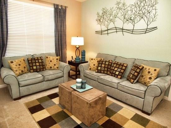 Living Area - VC3C4802CD-210 Best Value 3 Bedroom Condo Near Disney with WiFi - Orlando - rentals