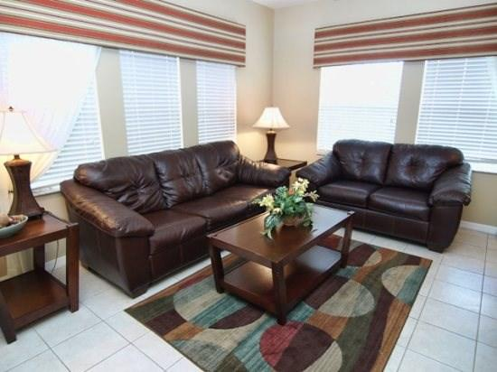 Living Area - E4T3193YLL 4 Bedroom Resort Townhome Next To Club House - Four Corners - rentals