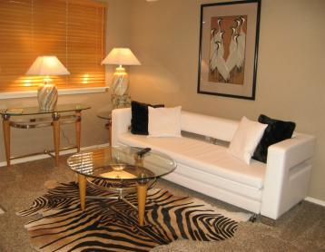 LIVING ROOM - ROMANTIC JACUZZI 1 BDRM NO STAIRS 417-331-0544 - Branson - rentals