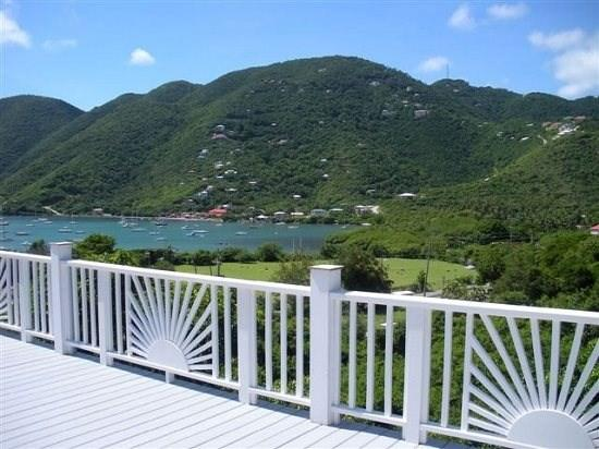 View of Coral Harbor from deck - Villa Jumbie - Coral Bay - rentals