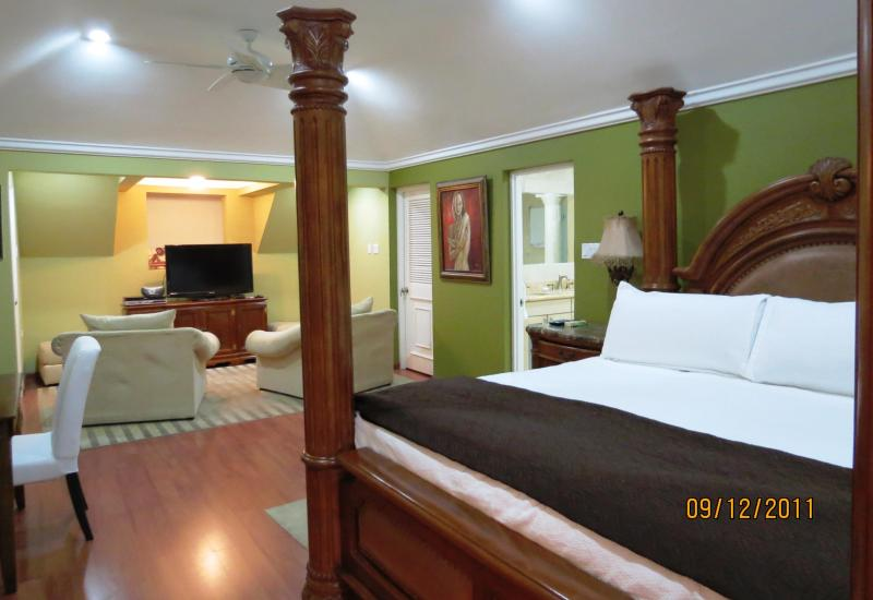 Master Suite upstairs - Seaside Penthouse in Ocho Rios Jamaica - Ocho Rios - rentals