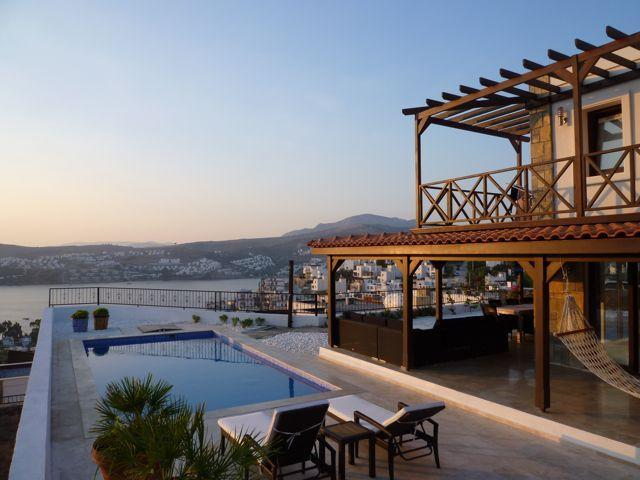 Side view - Villa Manzara - Oriental luxury on Aegean coast - Gundogan - rentals