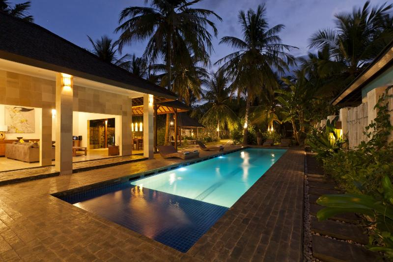 Private 15m Pool - Villa Tenang - Large 3 bedroom villa with Pool - Gili Trawangan - rentals