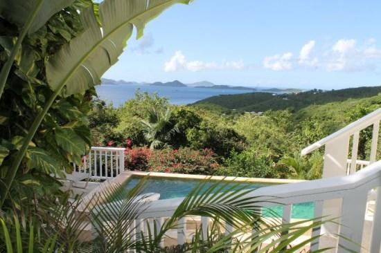 Private pool and incredible views from private decks add to the allure of Perelandra - Perelandra - Saint John - rentals