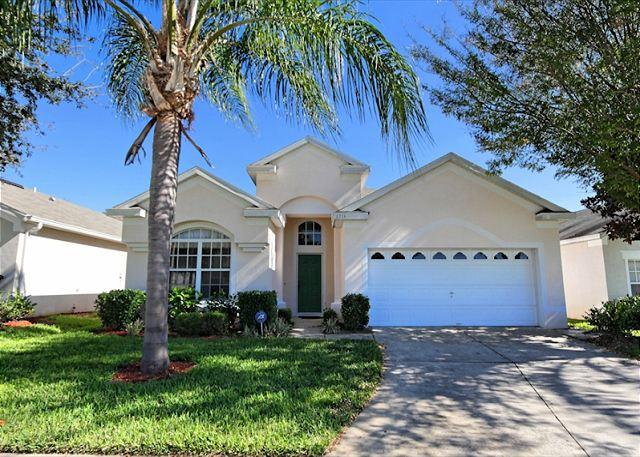 Front View - BRIGHTON: 4 Bedroom Home in Gated Resort Community with Private Pool and Spa - Kissimmee - rentals