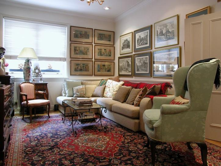 Elegant Living Room - USD-4 Bdrm, 3 Bth House, Sloane Sq, Holbein Mews - London - rentals