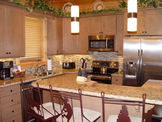 Kitchen and Island Seating, New Stainless Steel Appliances, Granite Countertops and Cabinets - Chaparral 301-Cozy 2 Bedroom Deer Valley Condo - Park City - rentals