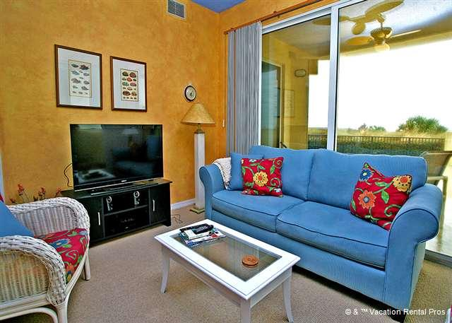 Surf Club 1108 comfortably sleeps 4 people - Surf Club 1108, Ocean Front, Ground Floor, 3 Pools, Tennis - Palm Coast - rentals
