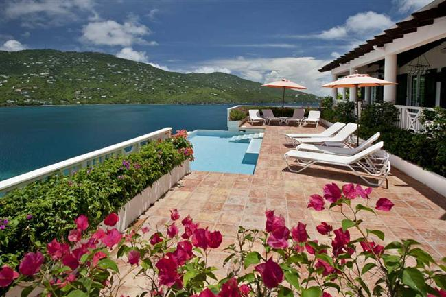 Casa Lupa at Estate Peterborg, St. Thomas - Ocean View, Just Above The Shoreline, Pool - Image 1 - Peterborg - rentals