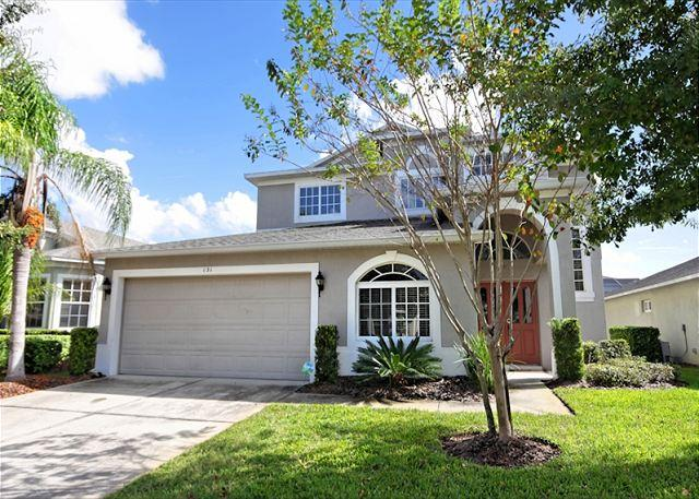 Front View - SUNSET COVE VILLA II: 6 Bedroom Pet-Friendly Home with Private Pool and Spa - Davenport - rentals
