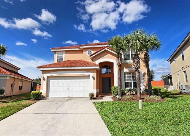 Front View - SYMPHONY VILLA: 6 Bedroom Home in Gated Resort Community with 3 Master Suites - Davenport - rentals