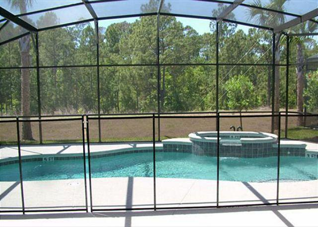 Pool Area - WILDER VILLA: 5 Bedroom Home with Extra Pool and Spa Privacy - Davenport - rentals