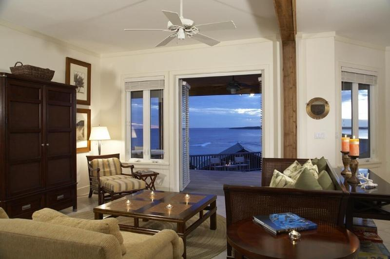 Magnificent Living Area with Panoramic Ocean Views - OceanFront Luxury Home in the Marriott Abaco Club on Winding Bay - Marsh Harbour - rentals