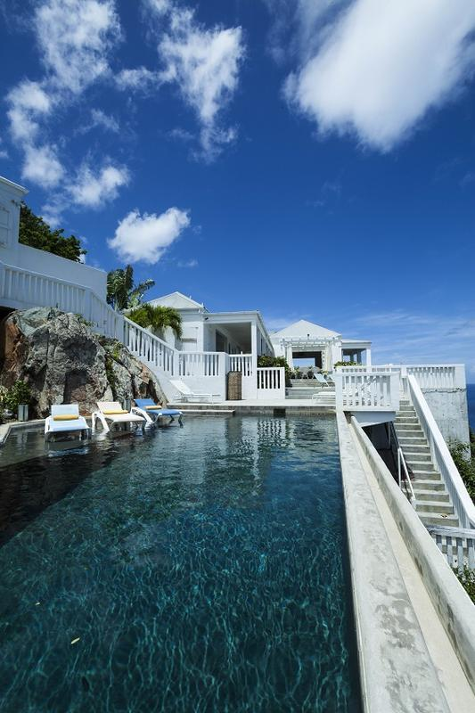 Banana at Peterborg, St. Thomas - Perched On The Edge Of A Cliff, Pool, Ocean View - Image 1 - Peterborg - rentals