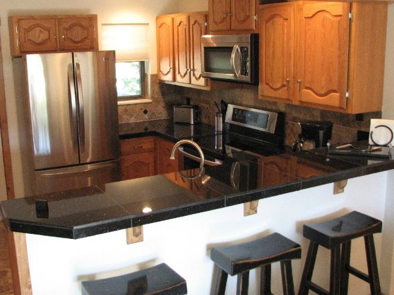 Kitchen w/ Stainless Steel Appliances - Remodeled Winter Park Condo - Sleeps 6 - Winter Park - rentals