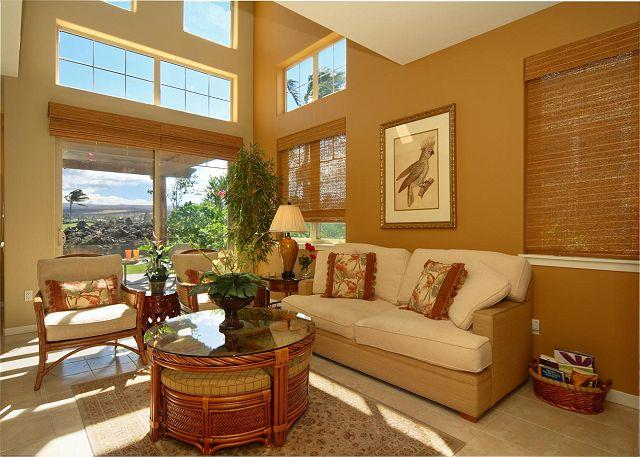 Comfortable Island Living Room - SUMMER SPECIAL 7th NIGHT FREE - Beautiful Luxurious 3BR Fully Loaded!! - Mauna Lani - rentals