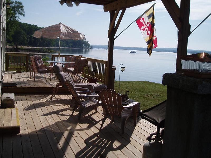 Lower Front Deck - Top of the Chesapeake - Near Historic Charlestown - Perryville - rentals