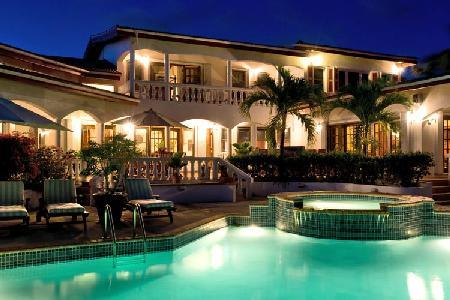 Luxurious Coyaba Villa on southern coast, 2 minute walk to Cove Beach with pool & playground - Image 1 - Anguilla - rentals