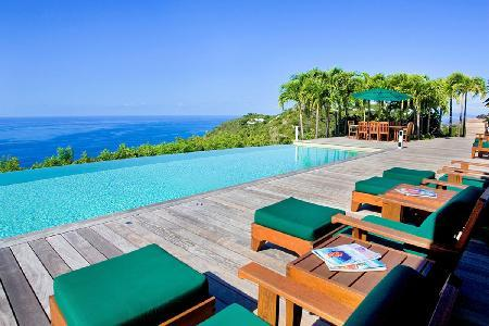 Sumptuous La Fleur de Mer offers pool, home theater and spacious  gym - Image 1 - Colombier - rentals