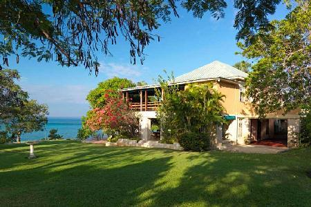 Elegant British Colonial estate, Lime Acre boasts a private beach, pool & full staff - Image 1 - Whitehouse - rentals