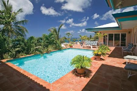 Villa des Great Chefs - Private villa offers pool, incredible views & alfresco dining - Image 1 - Saint Croix - rentals